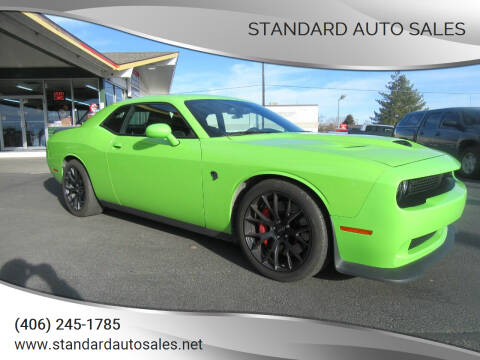 2015 Dodge Challenger for sale at Standard Auto Sales in Billings MT