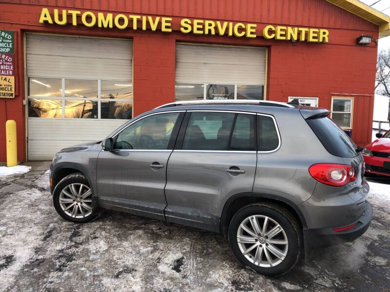 2009 Volkswagen Tiguan for sale at ASC Auto Sales in Marcy NY