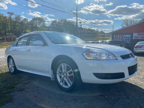 2014 Chevrolet Impala Limited for sale at Best For Less Auto Sales & Service LLC in Dunbar PA