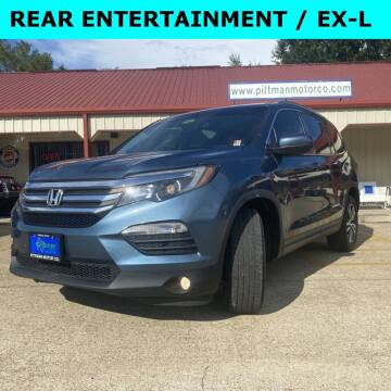 2016 Honda Pilot for sale at PITTMAN MOTOR CO in Lindale TX