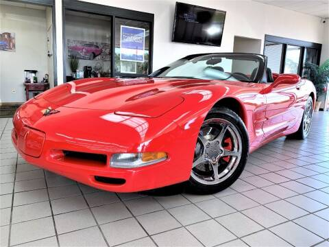 2000 Chevrolet Corvette for sale at SAINT CHARLES MOTORCARS in Saint Charles IL