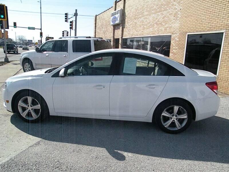 2014 Chevrolet Cruze for sale at Kingdom Auto Centers in Litchfield IL