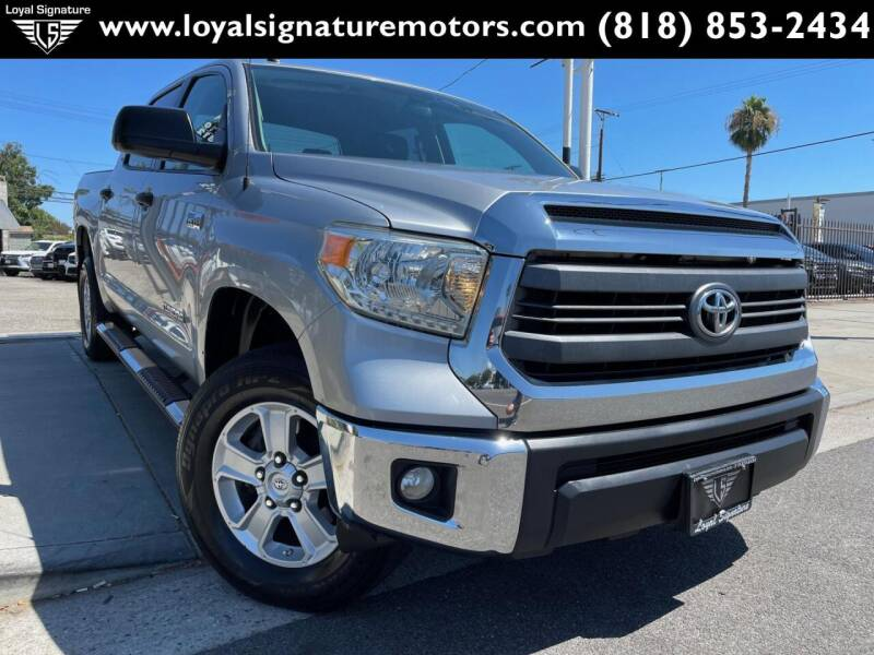 2014 Toyota Tundra for sale at Loyal Signature Motors Inc. in Van Nuys CA