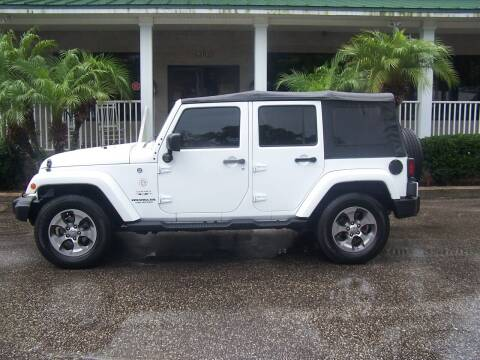 2016 Jeep Wrangler Unlimited for sale at Thomas Auto Mart Inc in Dade City FL