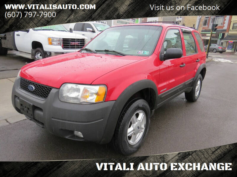 2002 Ford Escape for sale at VITALI AUTO EXCHANGE in Johnson City NY