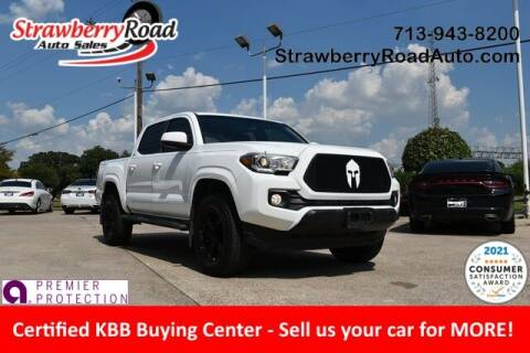 2016 Toyota Tacoma for sale at Strawberry Road Auto Sales in Pasadena TX