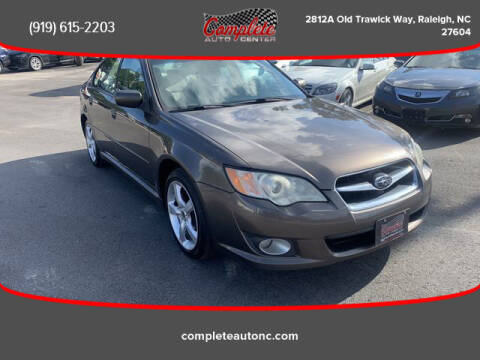 2008 Subaru Legacy for sale at Complete Auto Center , Inc in Raleigh NC