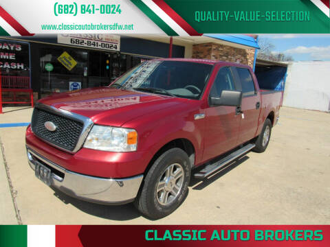 2007 Ford F-150 for sale at Classic Auto Brokers in Haltom City TX