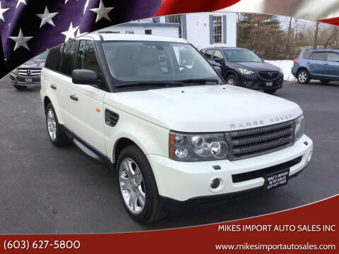 2006 Land Rover Range Rover Sport for sale at Mikes Import Auto Sales INC in Hooksett NH