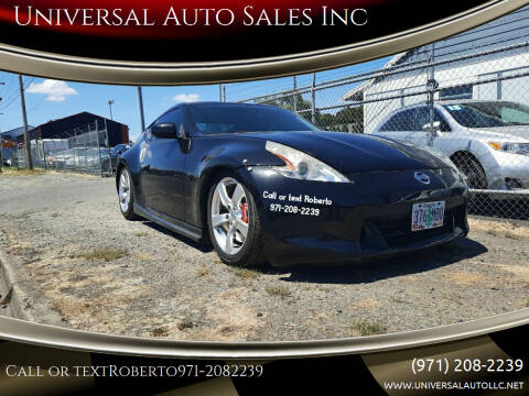 2009 Nissan 370Z for sale at Universal Auto Sales Inc in Salem OR