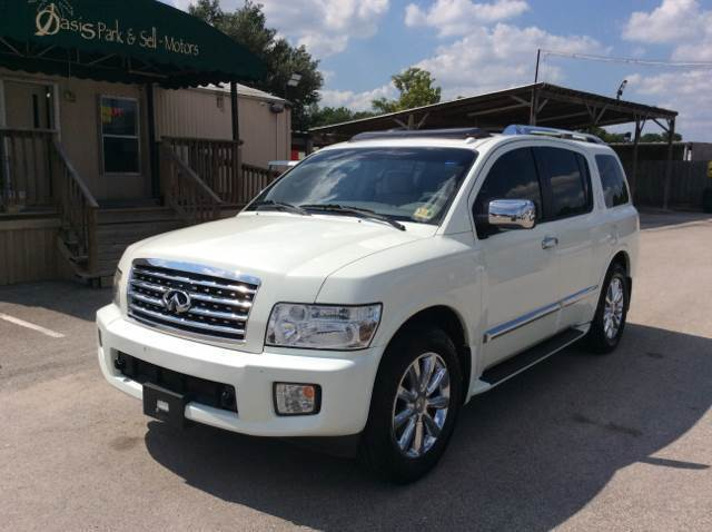 2009 Infiniti QX56 for sale at OASIS PARK & SELL in Spring TX