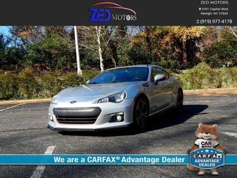 2013 Subaru BRZ for sale at Zed Motors in Raleigh NC
