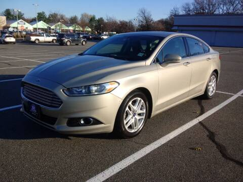 2016 Ford Fusion for sale at B&B Auto LLC in Union NJ