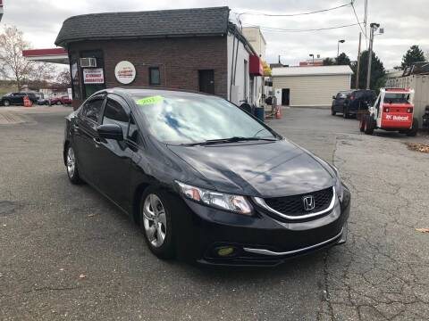 2015 Honda Civic for sale at Stadium Auto Sales in Everett MA