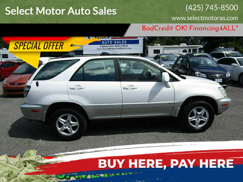 2002 Lexus RX 300 for sale at Select Motor Auto Sales in Lynnwood WA