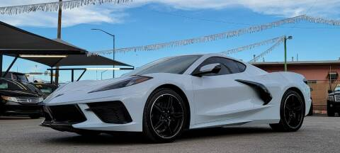 2021 Chevrolet Corvette for sale at Elite Motors in El Paso TX