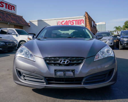 2012 Hyundai Genesis Coupe for sale at CARSTER in Huntington Beach CA