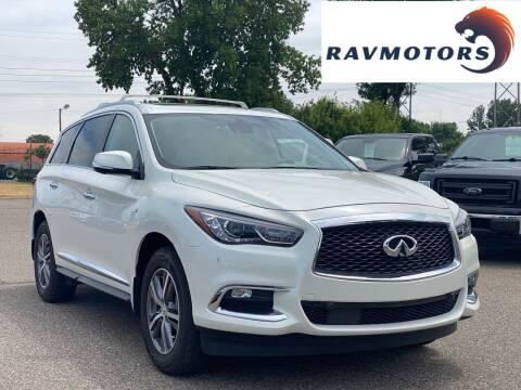 2019 Infiniti QX60 for sale at RAVMOTORS in Burnsville MN