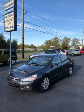 2007 Honda Accord for sale at Erie Shores Car Connection in Ashtabula OH