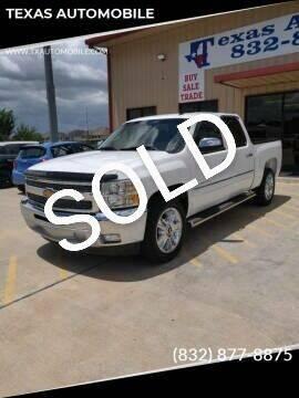 2013 Chevrolet Silverado 1500 for sale at TEXAS AUTOMOBILE in Houston TX