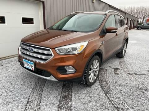 2017 Ford Escape for sale at Hill Motors in Ortonville MN