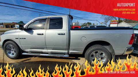 2010 Dodge Ram Pickup 1500 for sale at Autoxport in Newport News VA