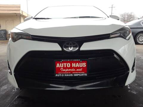 2017 Toyota Corolla for sale at Auto Haus Imports in Grand Prairie TX