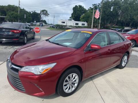 2017 Toyota Camry for sale at Galaxy Auto Service, Inc. in Orlando FL
