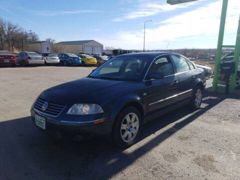2001 Volkswagen Passat for sale at Independent Auto in Belle Fourche SD