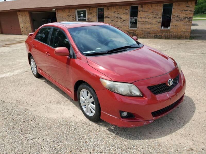 2009 Toyota Corolla for sale at Westside Auto Sales in New Boston TX