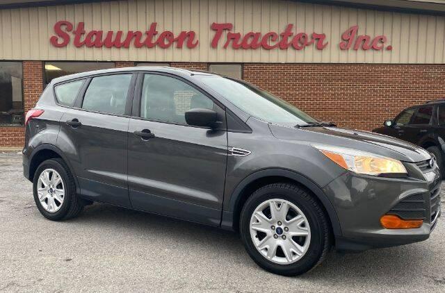 2016 Ford Escape for sale at STAUNTON TRACTOR INC in Staunton VA