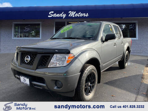 2017 Nissan Frontier for sale at Sandy Motors Inc in Coventry RI