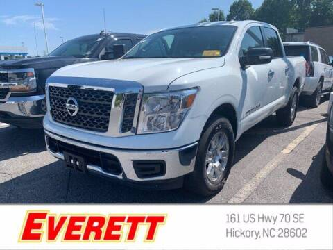 2018 Nissan Titan for sale at Everett Chevrolet Buick GMC in Hickory NC