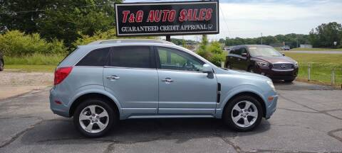 2014 Chevrolet Captiva Sport for sale at T & G Auto Sales in Florence AL