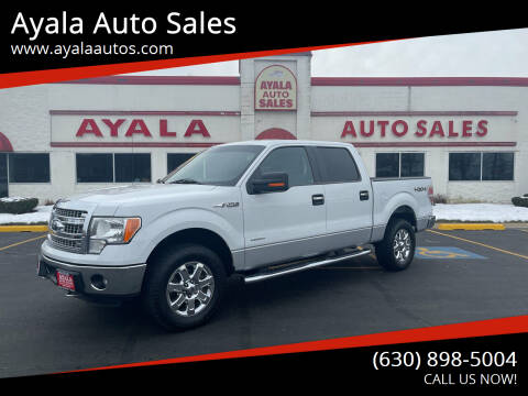2014 Ford F-150 for sale at Ayala Auto Sales in Aurora IL