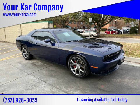 2015 Dodge Challenger for sale at Your Kar Company in Norfolk VA