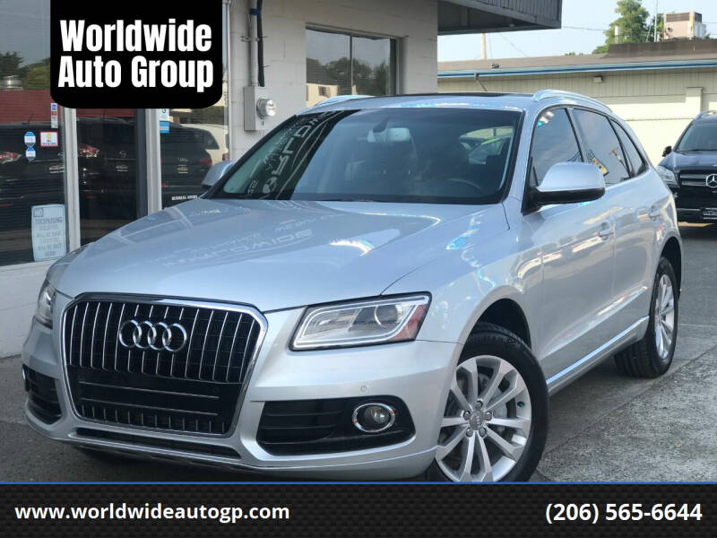 2013 Audi Q5 for sale at Worldwide Auto Group in Auburn WA