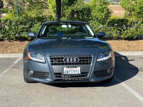 2011 Audi A5 for sale at CARFORNIA SOLUTIONS in Hayward CA