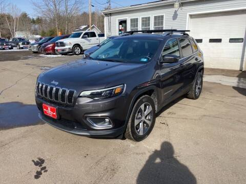 2019 Jeep Cherokee for sale at AutoMile Motors in Saco ME