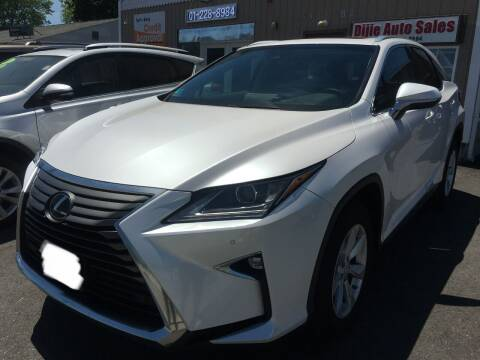 2017 Lexus RX 350 for sale at Dijie Auto Sale and Service Co. in Johnston RI