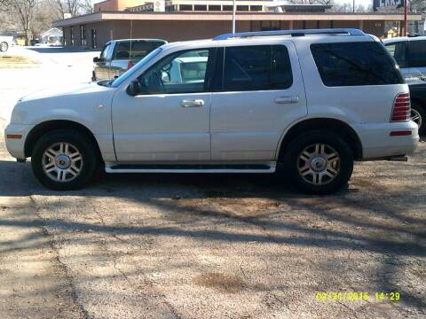 2003 Mercury Mountaineer for sale at D & D Auto Sales in Topeka KS