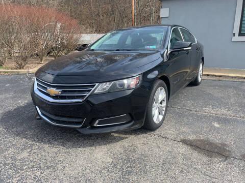 2014 Chevrolet Impala for sale at B & P Motors LTD in Glenshaw PA