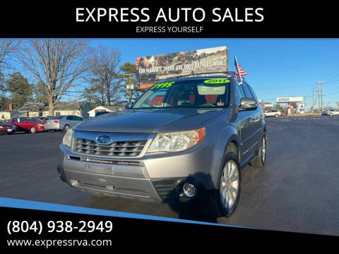 2011 Subaru Forester for sale at EXPRESS AUTO SALES in Midlothian VA
