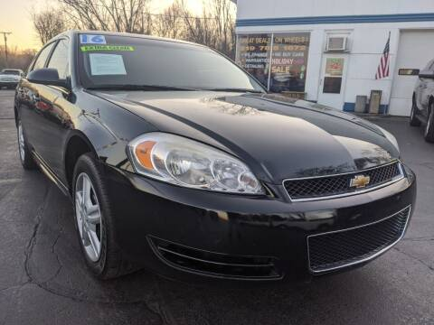 2016 Chevrolet Impala Limited for sale at GREAT DEALS ON WHEELS in Michigan City IN