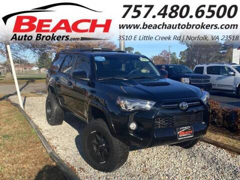 2020 Toyota 4Runner for sale at Beach Auto Brokers in Norfolk VA