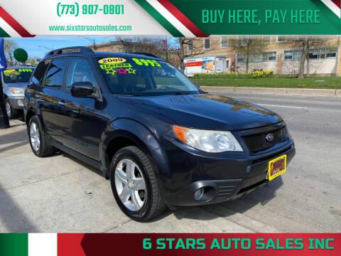 2009 Subaru Forester for sale at 6 STARS AUTO SALES INC in Chicago IL