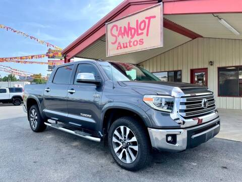 2018 Toyota Tundra for sale at Sandlot Autos in Tyler TX