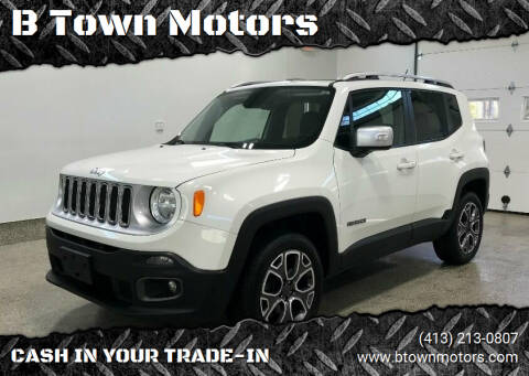 2016 Jeep Renegade for sale at B Town Motors in Belchertown MA