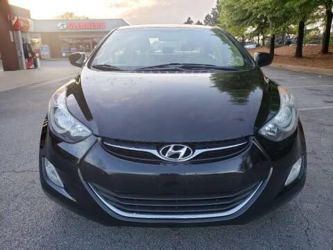 2013 Hyundai Elantra for sale at Gwinnett Luxury Motors in Buford GA