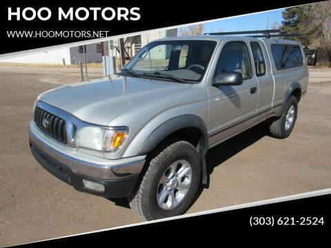 2002 Toyota Tacoma for sale at HOO MOTORS in Kiowa CO